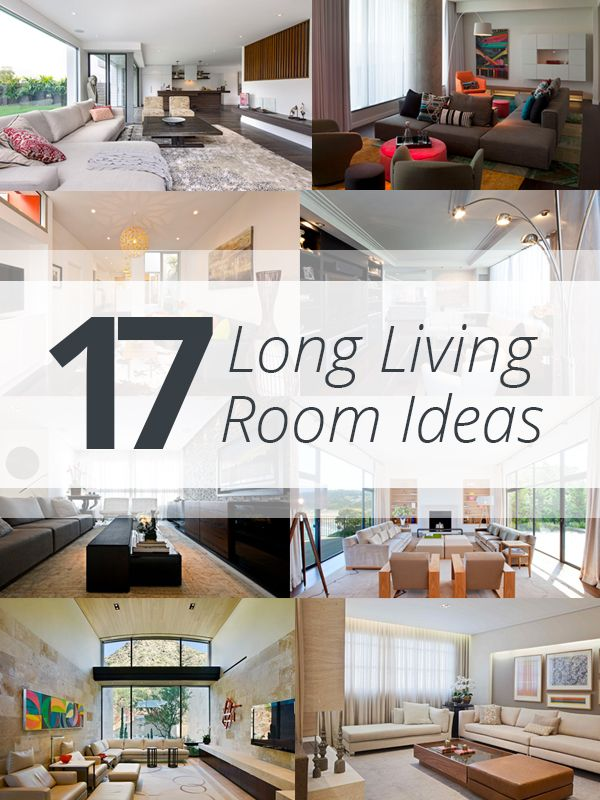 Best 25 long living rooms ideas on pinterest room for Narrow living room ideas