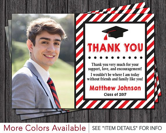 Graduation Thank You Cards: 25+ Unique Graduation Thank You Cards Ideas On Pinterest