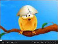 Niezwykle przyjazny kurczaczek http://www.smiesznefilmy.net/kurczaczek #pisklak #kurczaczek #animacja