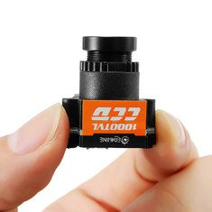 Eachine 1000TVL 1/3 CCD 110 Degree 2.8mm Lens Wide Voltage 5-20V Mini FPV Camera NTSC PAL Switchable.  Up To Extra 10% Off For Eachine RC Drone Deals for Orders Over $200. Enjoy the 10% coupon for Eachine brand deals Promotion Period: 12 September 2017 - 30 September 2017 [Coupon Code: eachine100]