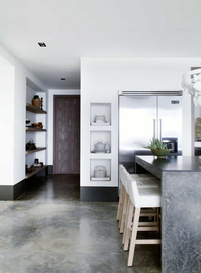 22 Best Beton Cire Images On Pinterest | Concrete Kitchen, Home