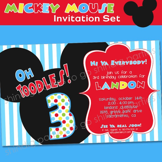 1000+ Images About 2nd Birthday Party-Mickey Mouse On