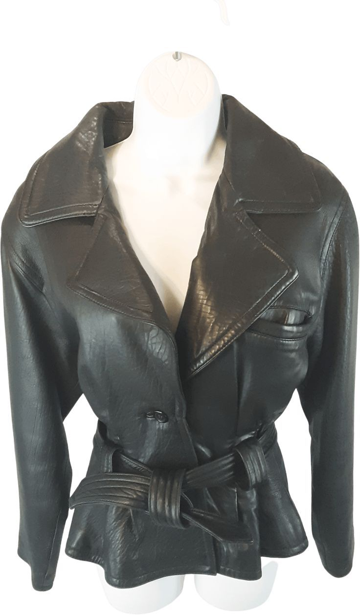 80 S Cropped Cinched Waist Leather Jacket By Pelle Studio Wilson Leathers In 2021 Leather Jacket Celebrities Leather Jacket Real Leather Jacket [ 1258 x 736 Pixel ]
