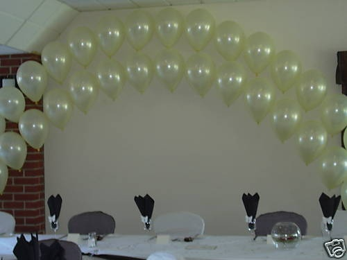 Helium Balloon Double Arch Diy Kit For Wedding Party Ebay