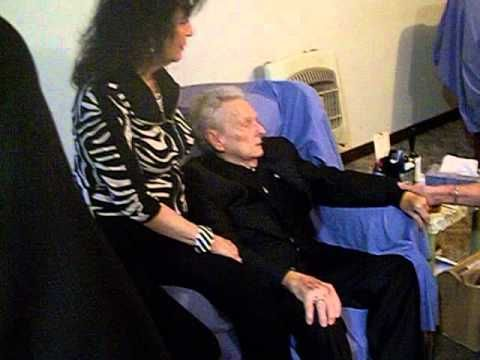"""Bluegrass legend, Dr. Ralph Stanley singing """" O Death"""" with his ..."""