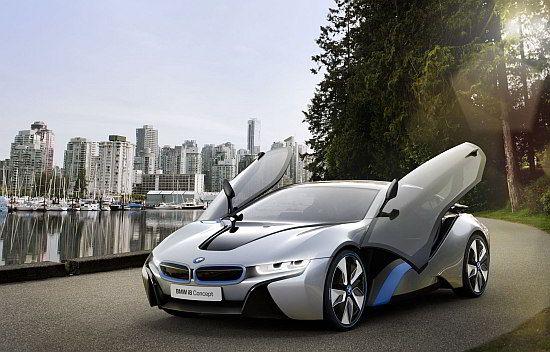 WEB LUXO - Carros de Luxo: BMW I8 é apontando como o carro do ano