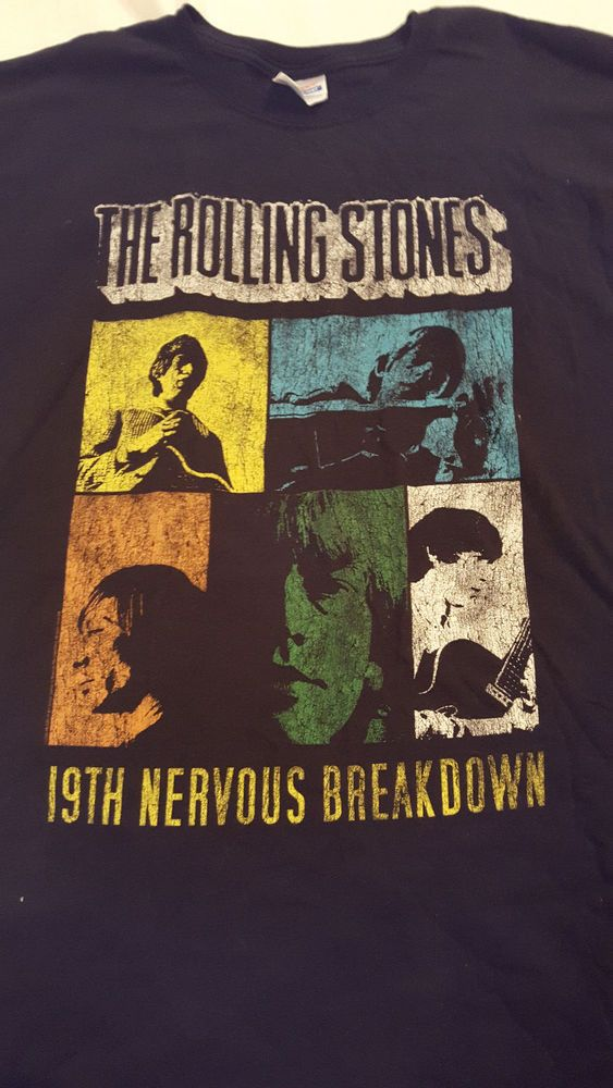 The Rolling Stones 19th Nervous Breakdown T Shirt 2XL