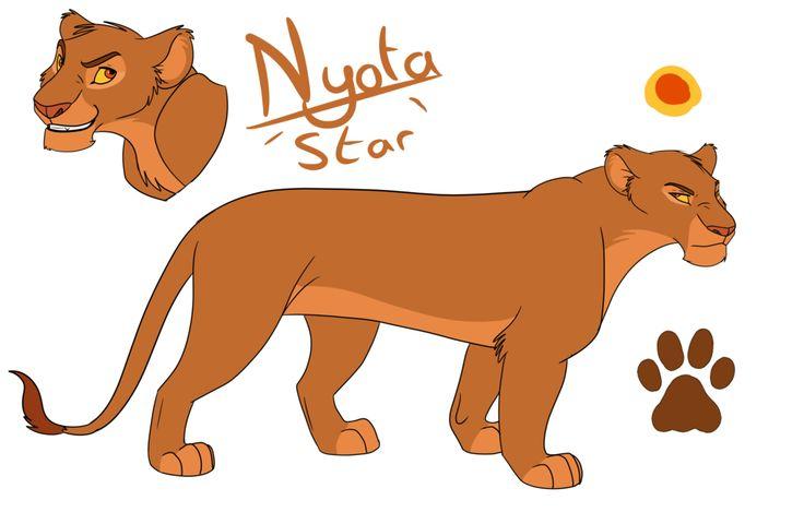nayo  sister of mtoto  cousin of simba