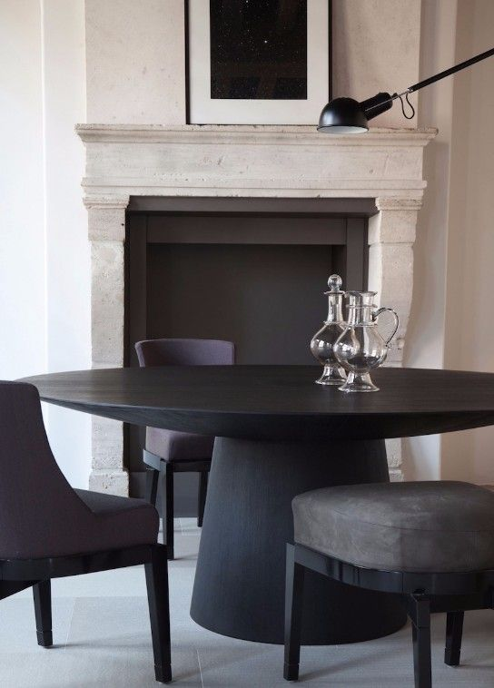 50 Strikingly Modern Dining Rooms That Inspire You To: Best 25+ Black Dining Tables Ideas On Pinterest