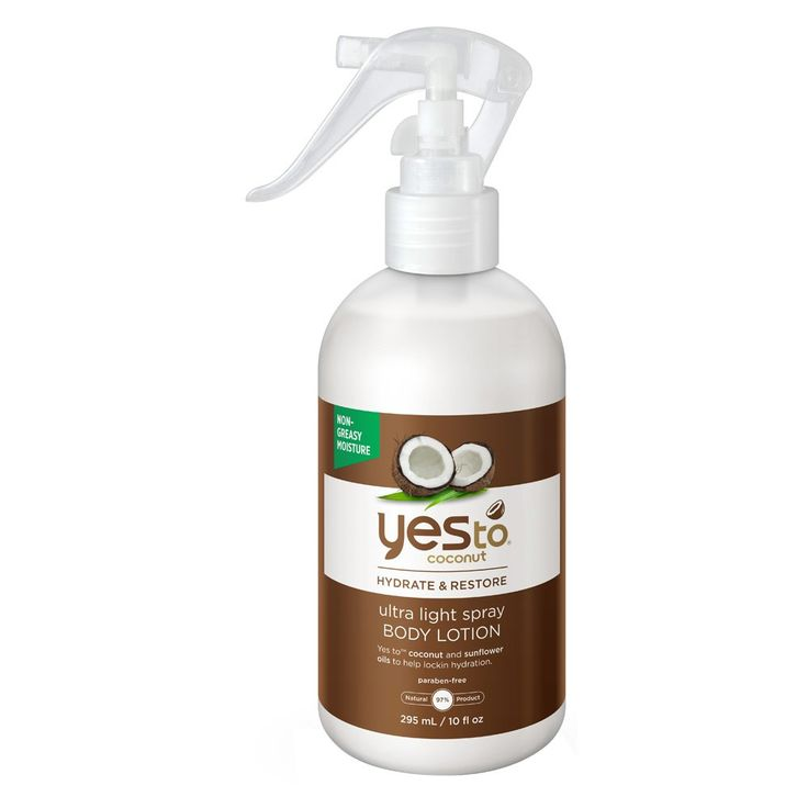 Yes To Coconut Ultra Light Spray Body Lotion 295 mL