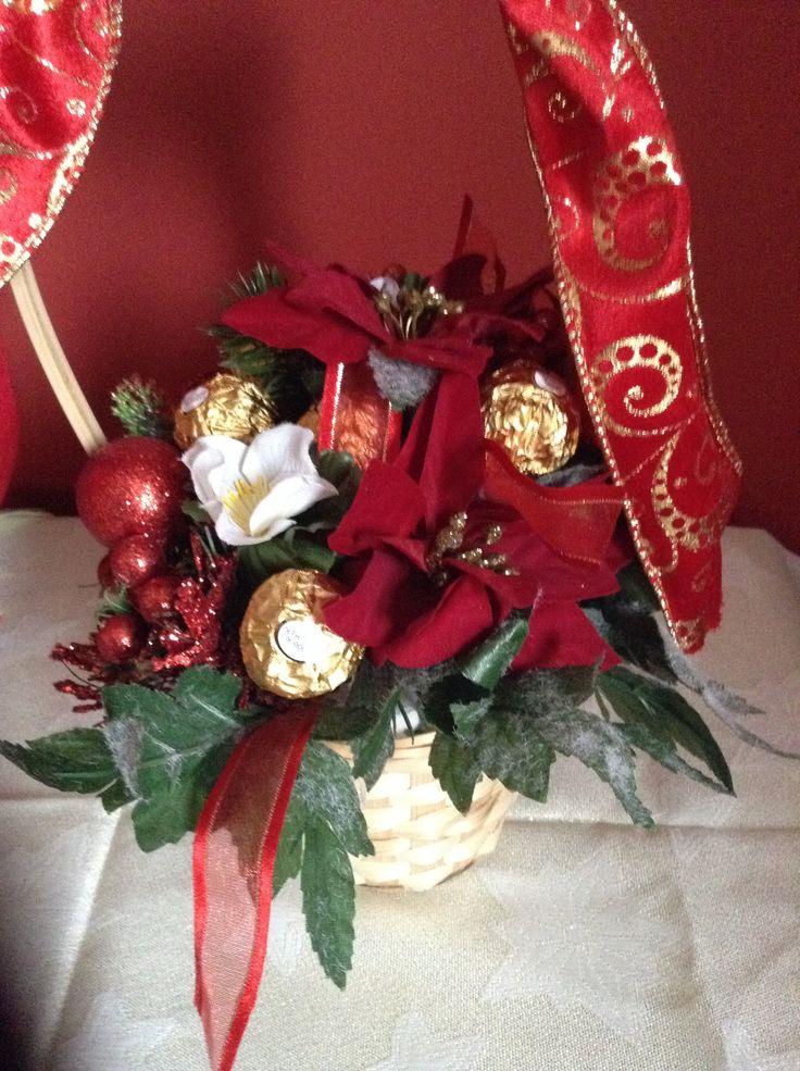 Christmas Ferrero bouquet