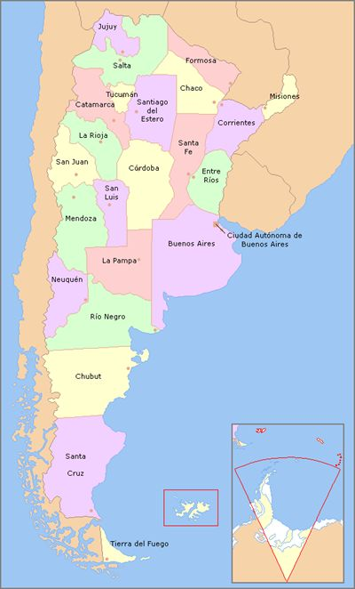 A list of the regional food specialties of Argentina.