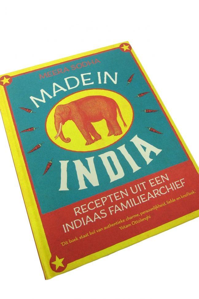 Afbeeldingsresultaat voor made in india kookboek