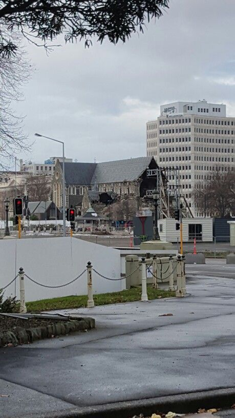 Christchurch Cathedral {Earthquake Damage}