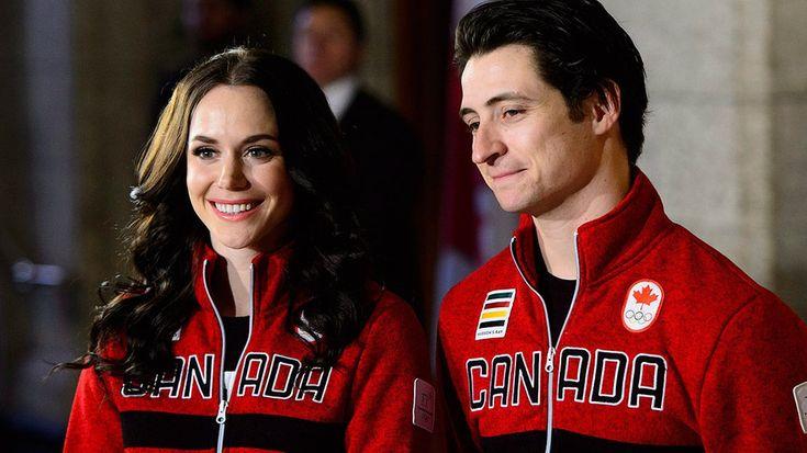 Figure skaters Tessa Virtue, Scott Moir named Canada's flag-bearers | CBC Sports