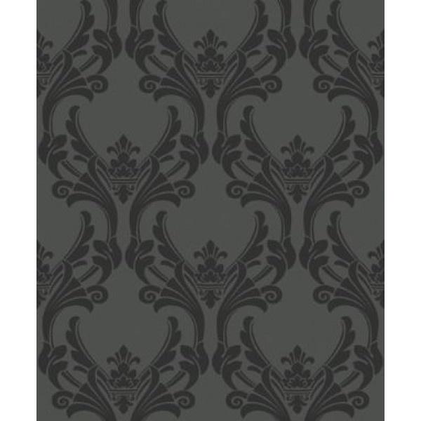 Elegant Traditional Flock Black for TR