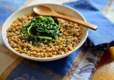 Zuppa di Lenticchie e Farro con Catalogna | Ricette di cucina: Say Yummy!
