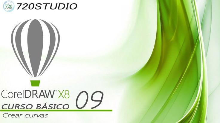 Corel Draw X8 - Crear curvas - Tutorial básico 09 - En Español