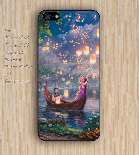 iPhone 5s 6 case lantern Tangled phone case iphone case,ipod case,samsung galaxy case available plastic rubber case waterproof B342