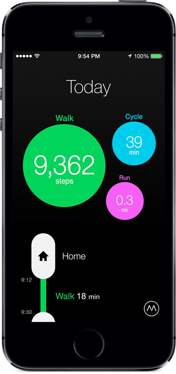 Moves - Activity Diary for iPhone and Android