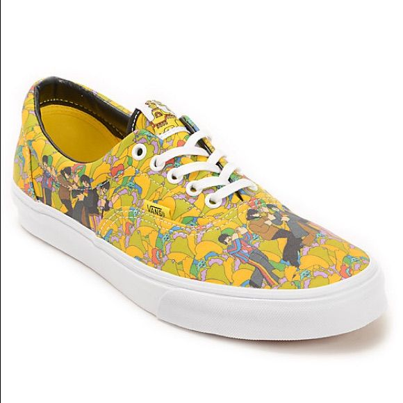 Vans Shoes | Vans X The Beatles Yellow Submarine (New