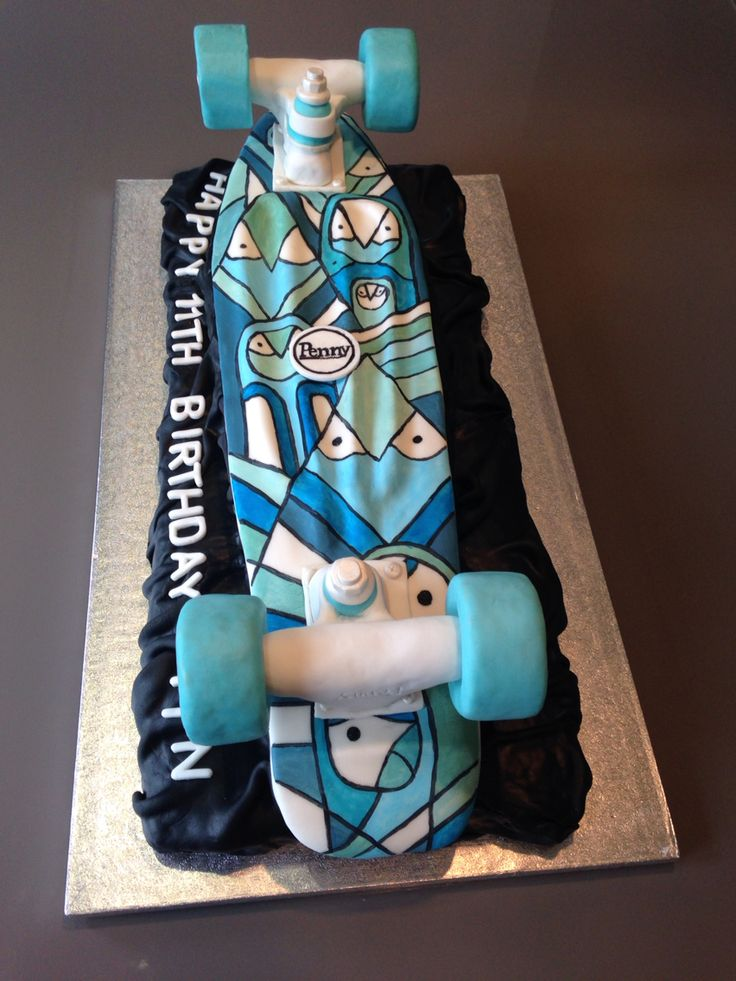 1000 Ideas About Skateboard Cake On Pinterest Cakes