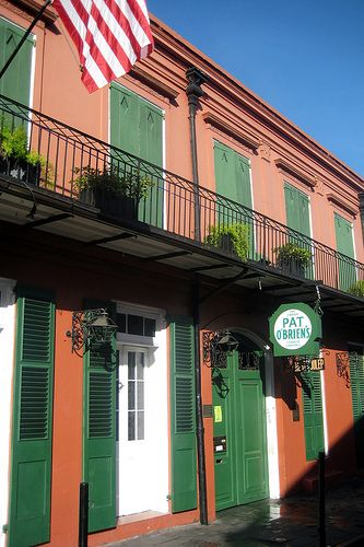 Pat O'Brien's, New Orleans (Can't go down Bourbon Street without hitting Pat O'Brien's!