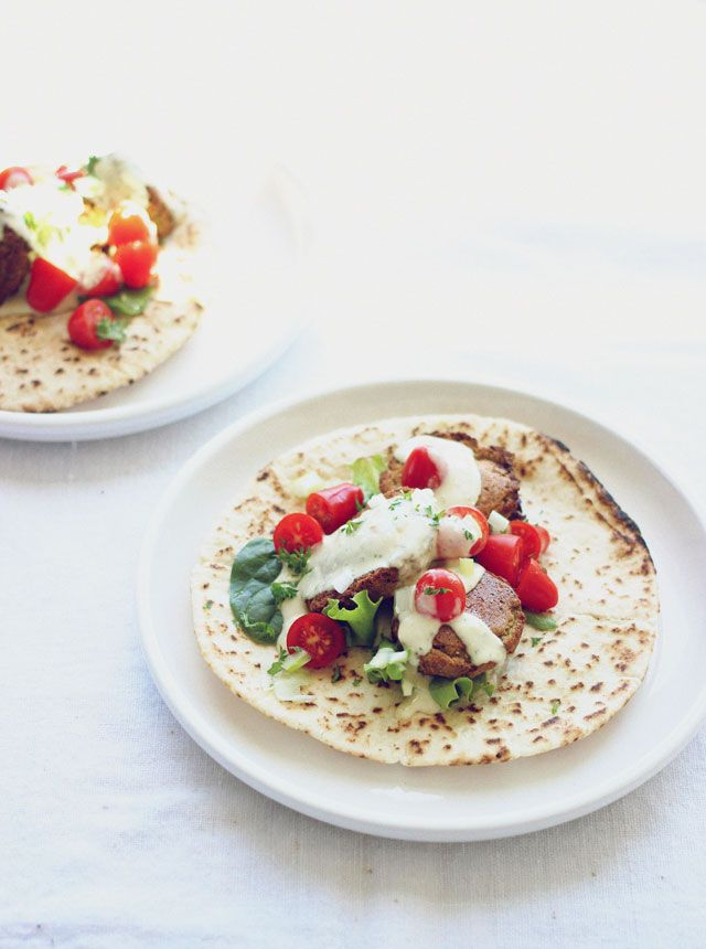 conundrum: Recipe Review: Baked Falafel with Pita