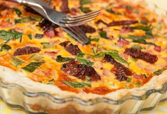 tavaszi újhagymás pite