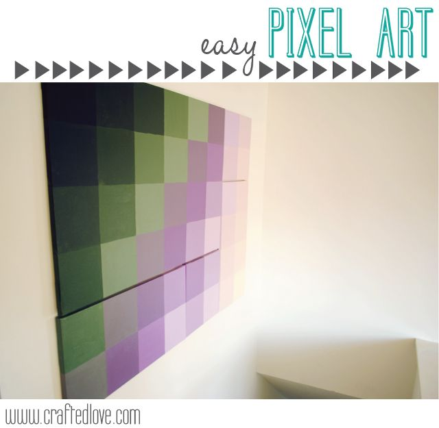 Easy Art | Oversized Pixel Art - Crafted Love