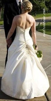 15 best Bustles images on Pinterest | Short wedding gowns, Wedding ...