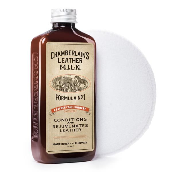 Leather Care Liniment No. 1 leather conditioner is the best combination of natural leather conditioners plus a gentle leather cleaner for your leather care!