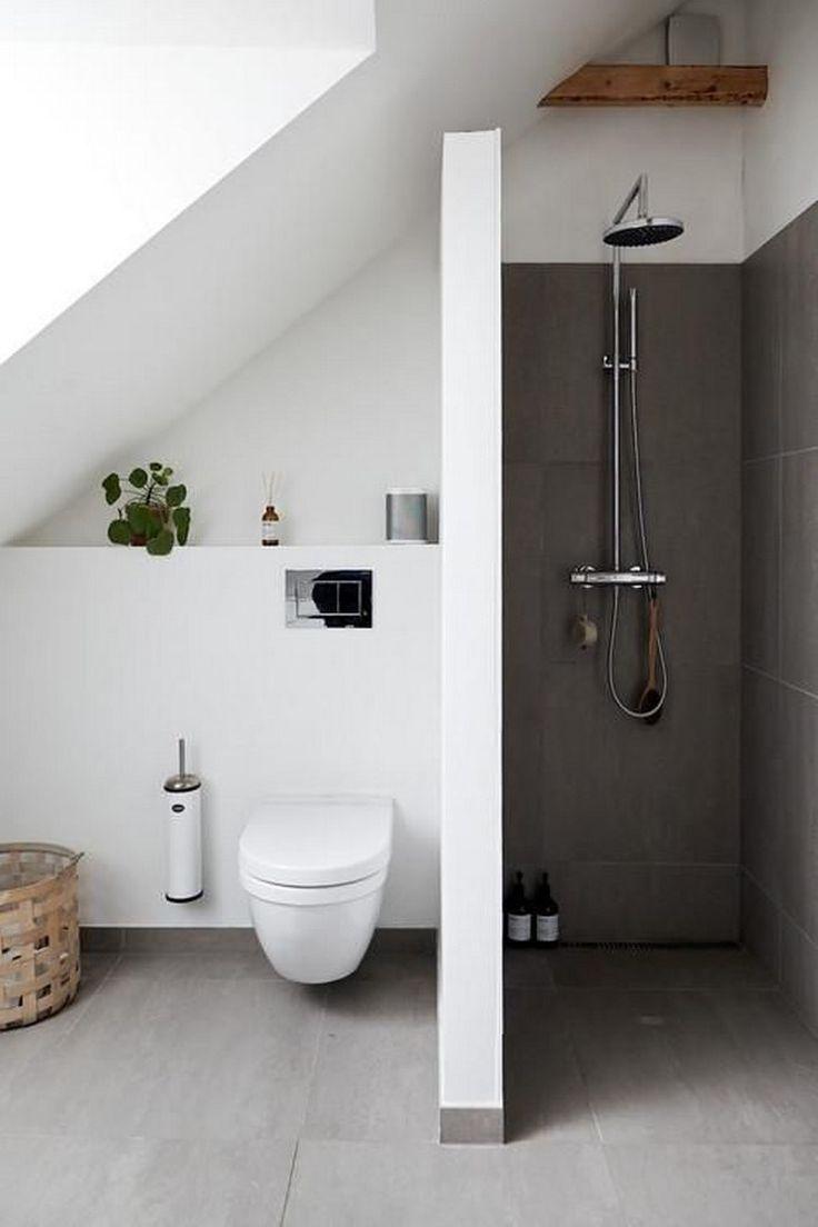 30 Moderne Badezimmer Design Ideen Sowie Tipps 12 Related In 2020 Modernes Badezimmerdesign Badezimmer Design Badezimmer Dachschrage