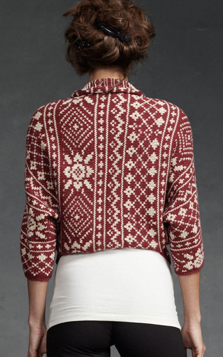 Fair Isle Shrug - Tops, Sweaters - CAbi Fall 2012 Collection