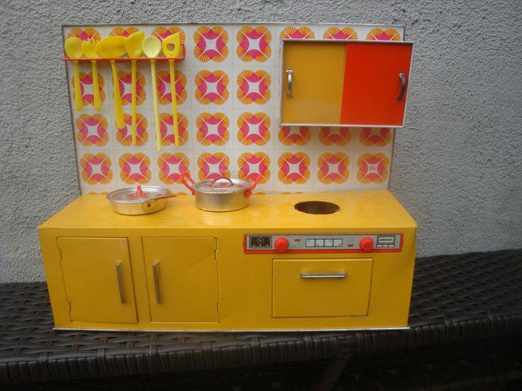 Puppenküche Blechküche 70er Jahre Puppenherd Vintage ! KÜCHE BLECH - küchen günstig kaufen ebay