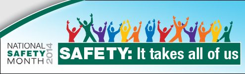 Safety and Design: June is National Safety Month. This blog post has a helpful home safety checklist for your home. www.HomeSafetyScene.com
