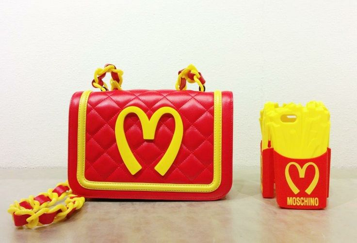 Moschino #minibag #leather #McDonalds #iphonecase #accessories #FolliFollie #collection