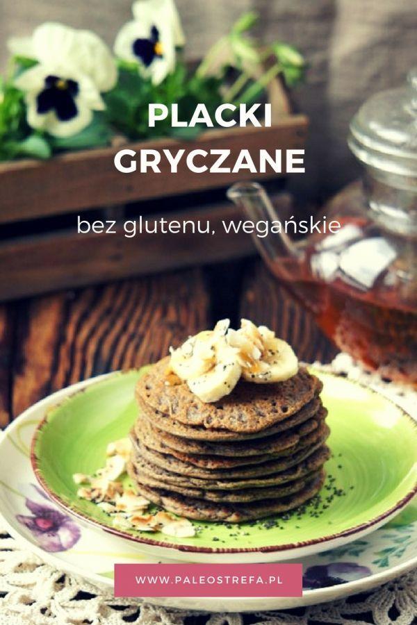 Placki gryczane bez glutenu, wegańskie