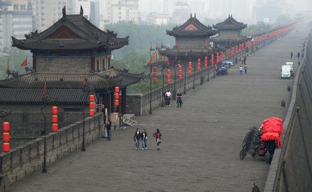 Muralhas da Cidade de Xi'an, China