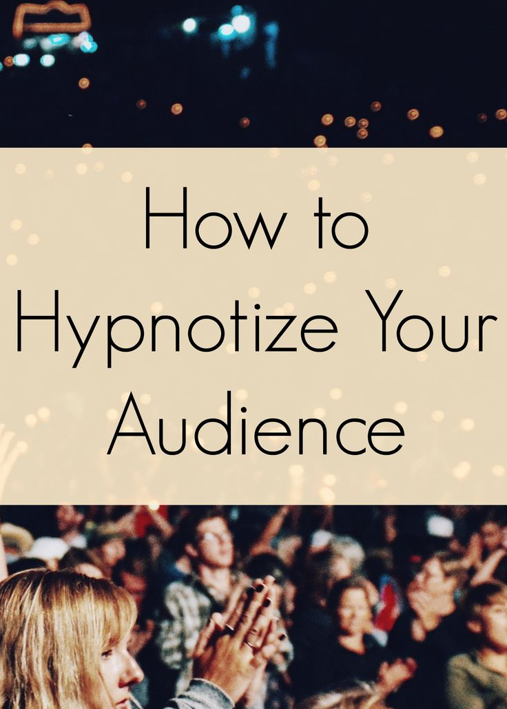 Public speaking tips - How to hypnotize your audience - 5 hypnotic techniques to enrapture your listeners. The first thing any good hypnosis trainer will.