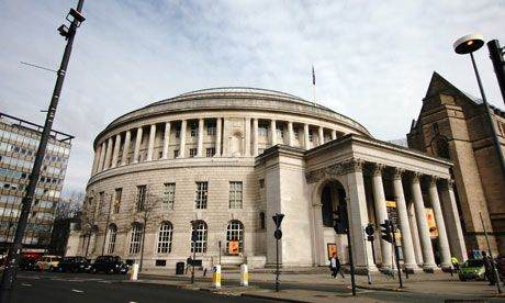 Manchester Central Library - visited