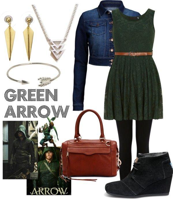 Green Arrow Inspired Everyday Cosplay