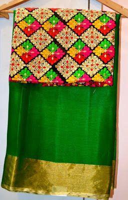 Latest Sarees With Designer Blouses | Buy Online Saree | Elegant Fashion Wear