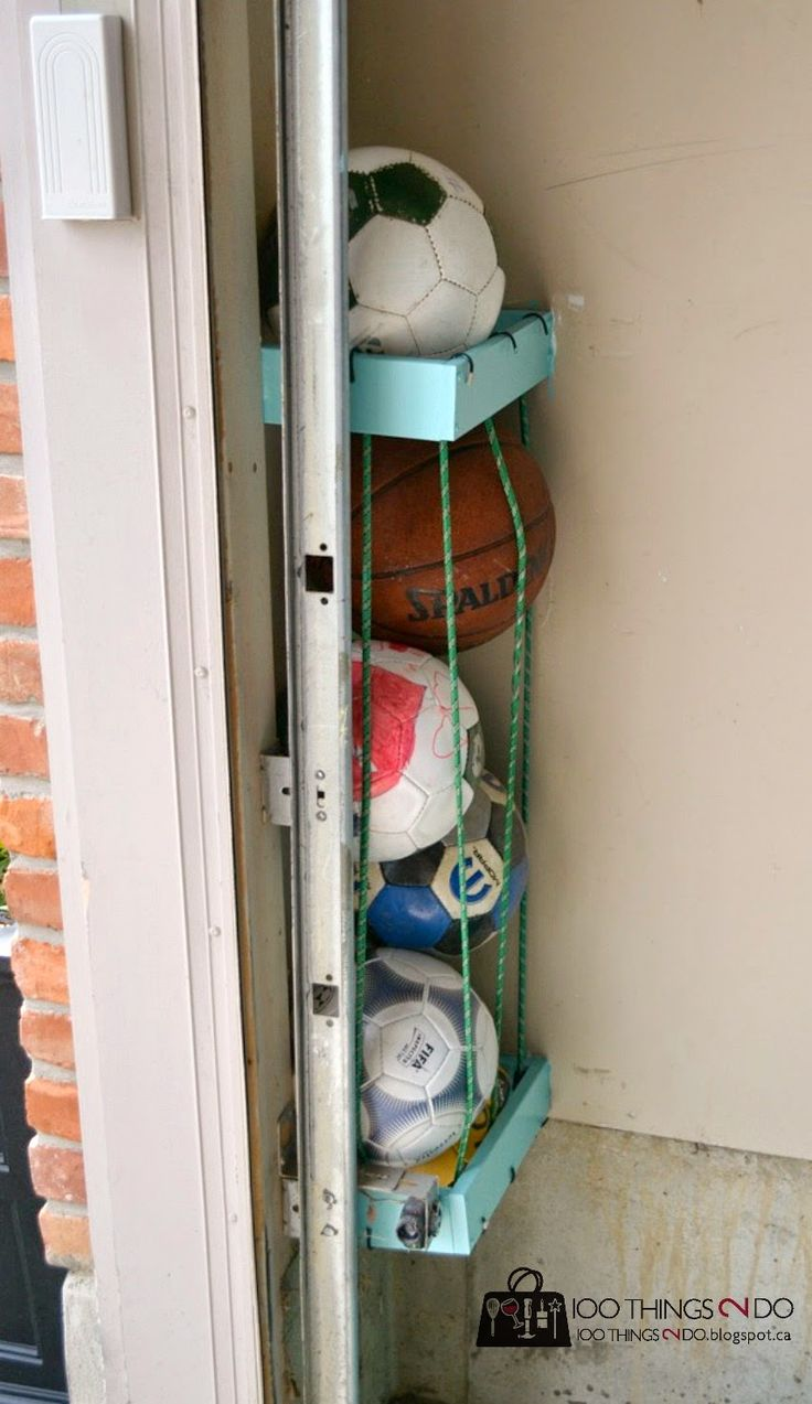 Best 25 Ball Storage Ideas On Pinterest Garage Storage