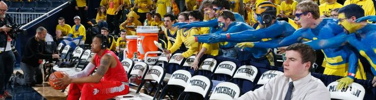Maize Rage   University of Michigan Basketball