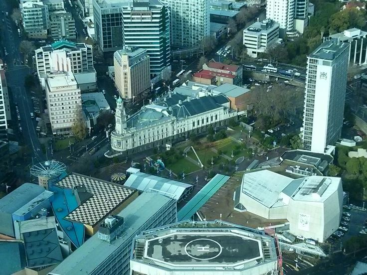 View of Auckland from the SkyTower.