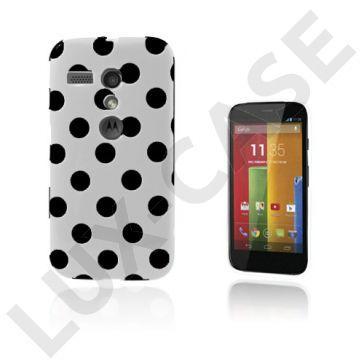 Polka Dots (Wit) Motorola Moto G Hoesje