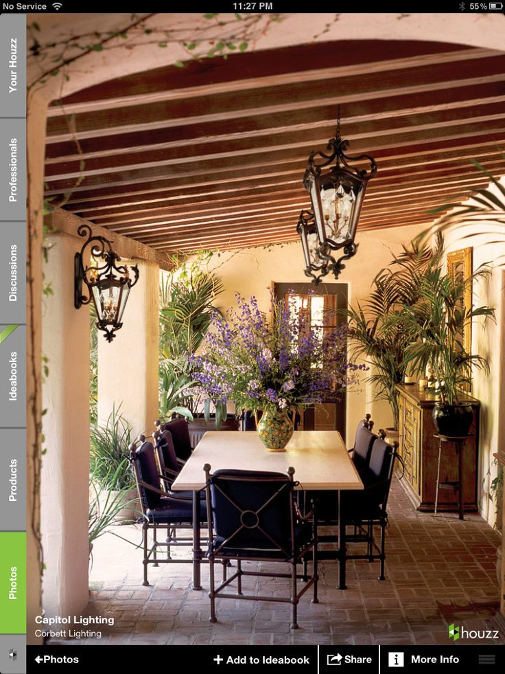 Awesome covered patio Backyard Pinterest Patio