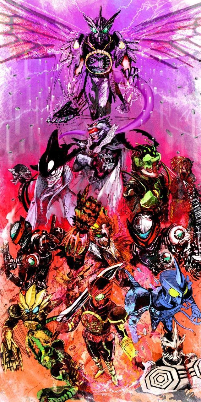 gza20090909:  (via 「Life gOOOse on!」/「Fumitica」のイラスト [pixiv]) Kamen Riders