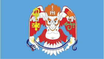 Khan Gard'--emblem of Mongolia's capital city, Ulaanbaatar